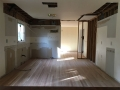 Hardwood floor installation at 100 Kingsdale Ave. Cherry Hill renovation