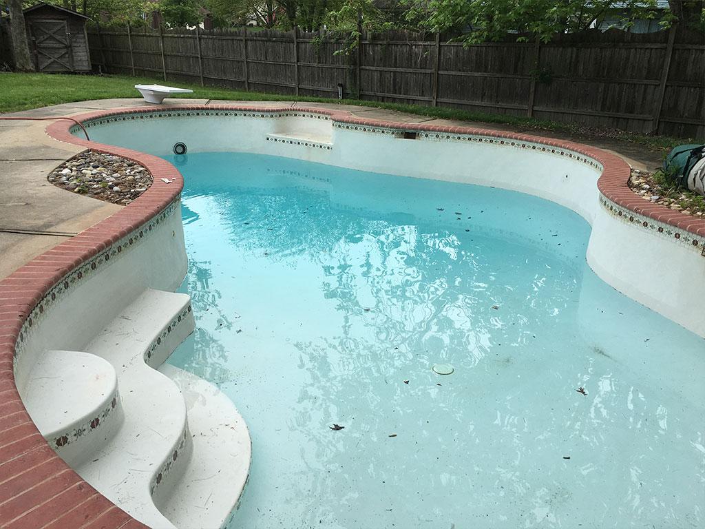 Kingsdale Pool renovation