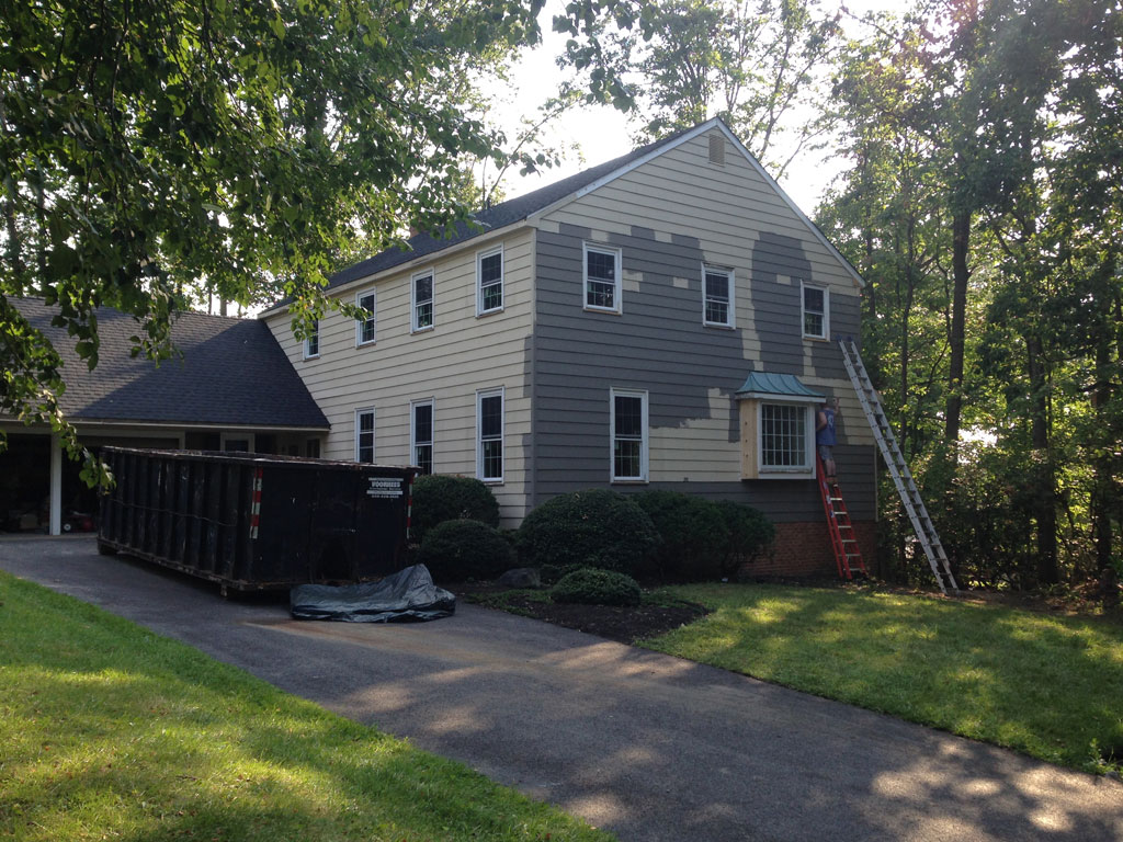 Painting Exterior Of Fox Hollow Cherry Hill Fixer Upper