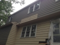 Exterior painting of Fox Hollow Cherry Hill fixer upper